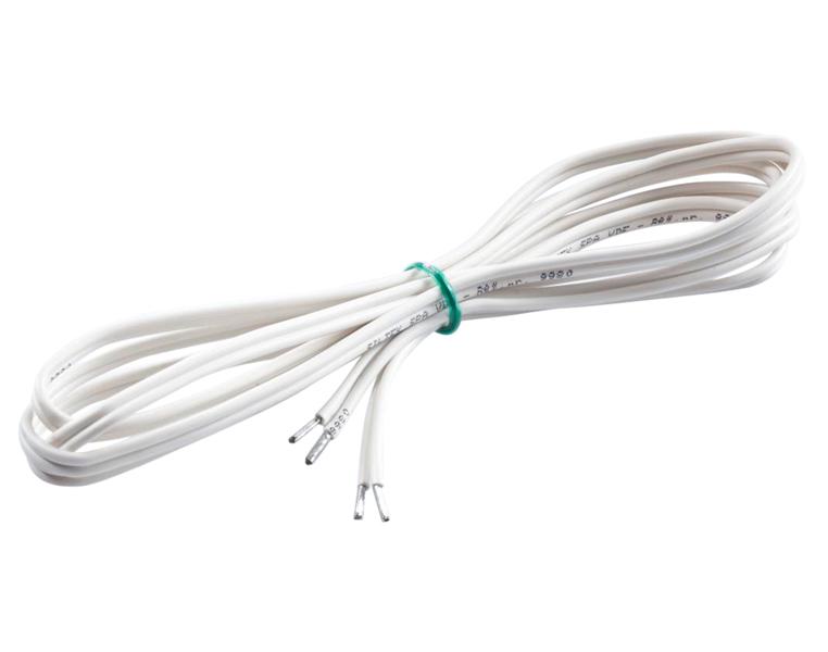 Sentiotec Silikonleitung weiß 2 x 0,5 mm² O-FX-C