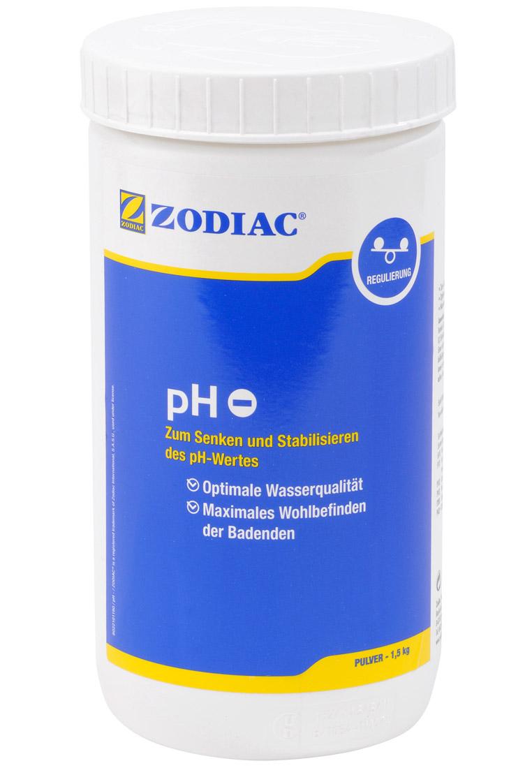 Zodiac pH-Minus Pulver senkt den pH-Wert 1,5 kg W400002