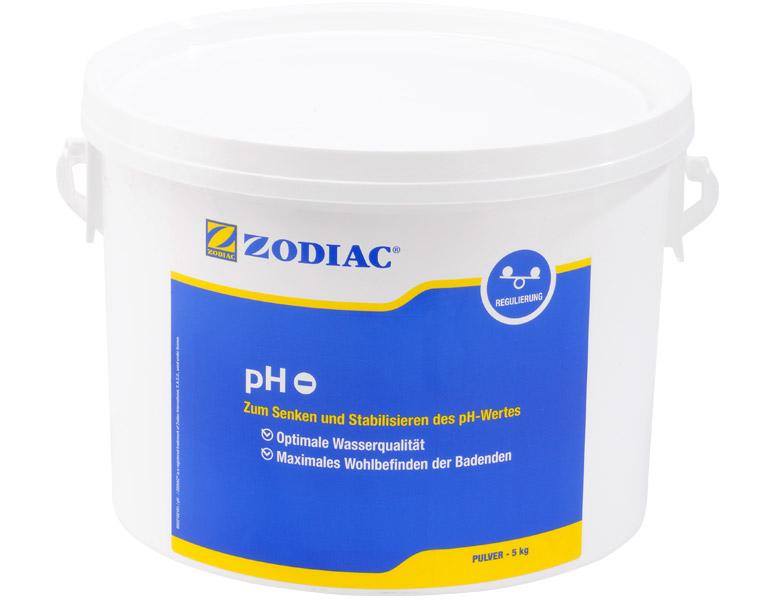 Zodiac pH-Minus Pulver senkt den pH-Wert 5 kg W400005