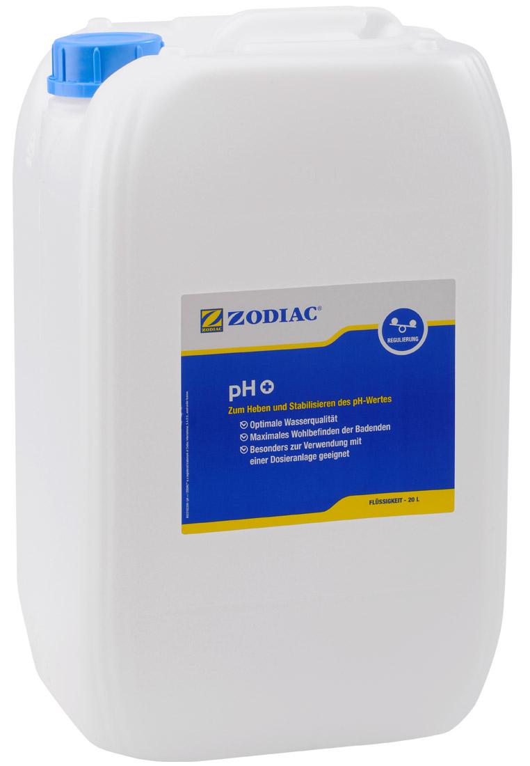Zodiac pH-Plus Flüssigkeit erhöt den pH-Wert 20 Liter W400021