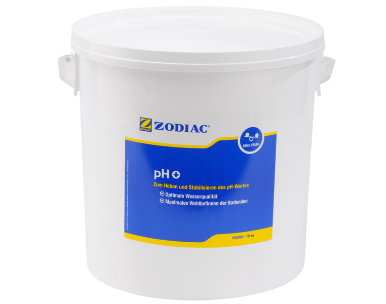Zodiac pH-Plus Pulver erhöt den pH-Wert 10 kg W400018