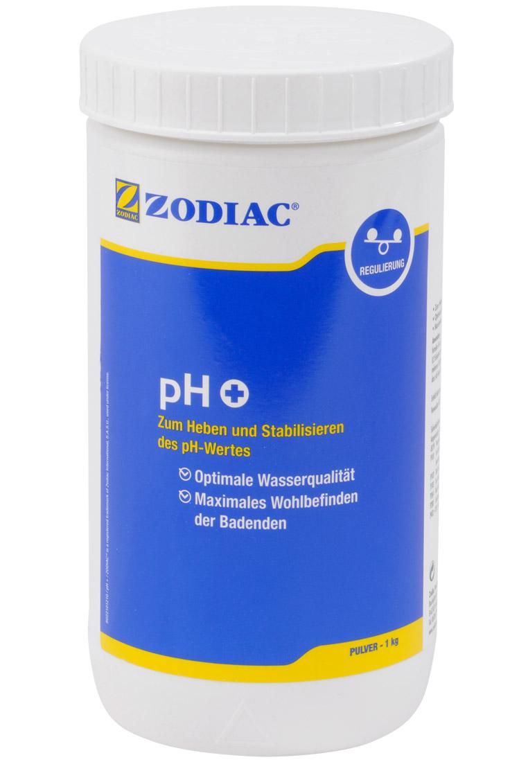 Zodiac pH-Plus Pulver erhöt den pH-Wert 1 kg W400013