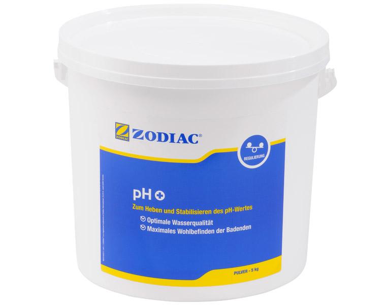 Zodiac pH-Plus Pulver erhöt den pH-Wert 5 kg W400016