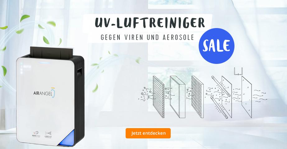 UV-Luftreiniger gegen Viren und Aerosole