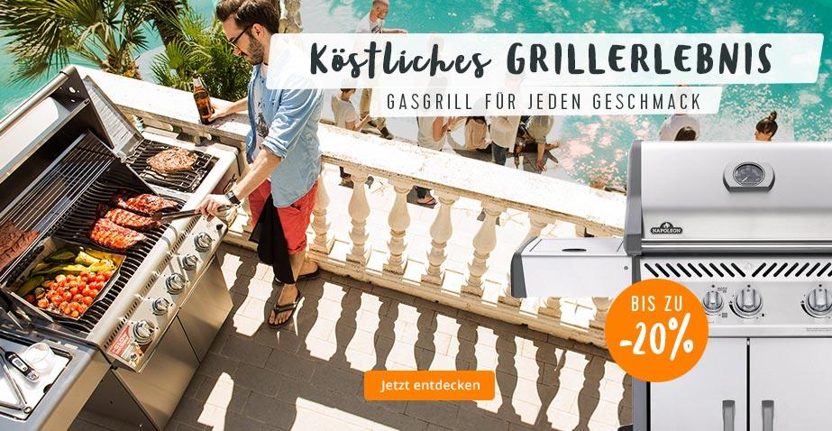 Gasgrill für ein köstliches Grillerlebnis