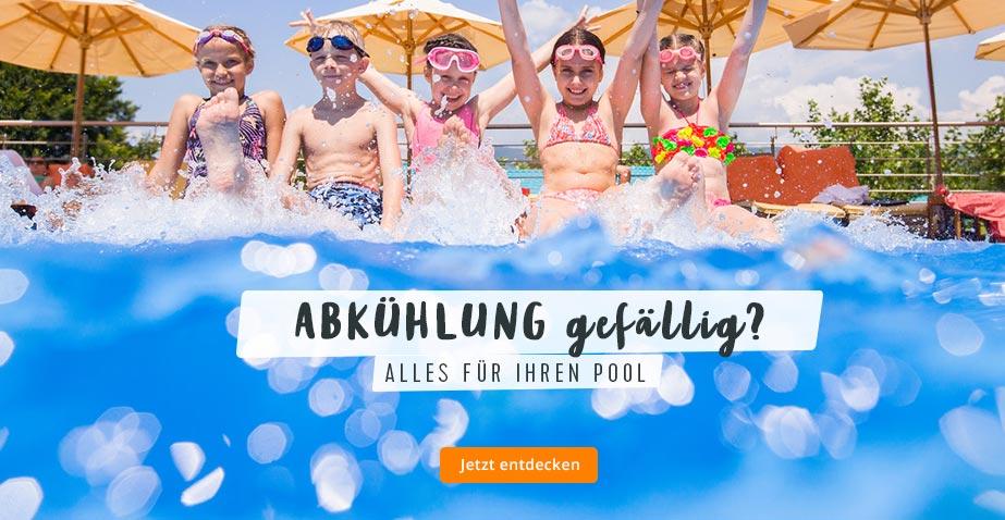 Sommer 2018: Entdecken Sie alles für Ihren Swimmingpool
