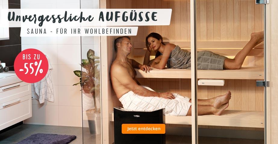 Wellness für daheim: Sauna und Zubehör für Ihr Wohlbefinden