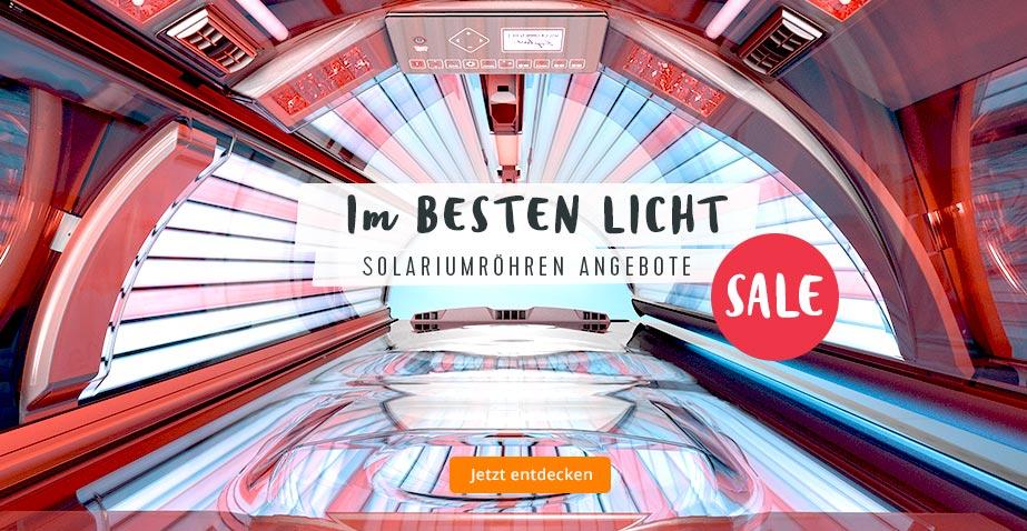 Günstige Solariumröhren für Ihr Solarium